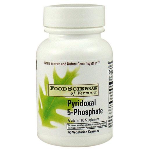 Pyridoxal 5-Phosphate P5P 60 vegicaps, FoodScience Of Vermont
