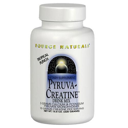 Pyruva-Creatine (Pyruvate Creatine) Drink Mix 14.8 oz from Source Naturals