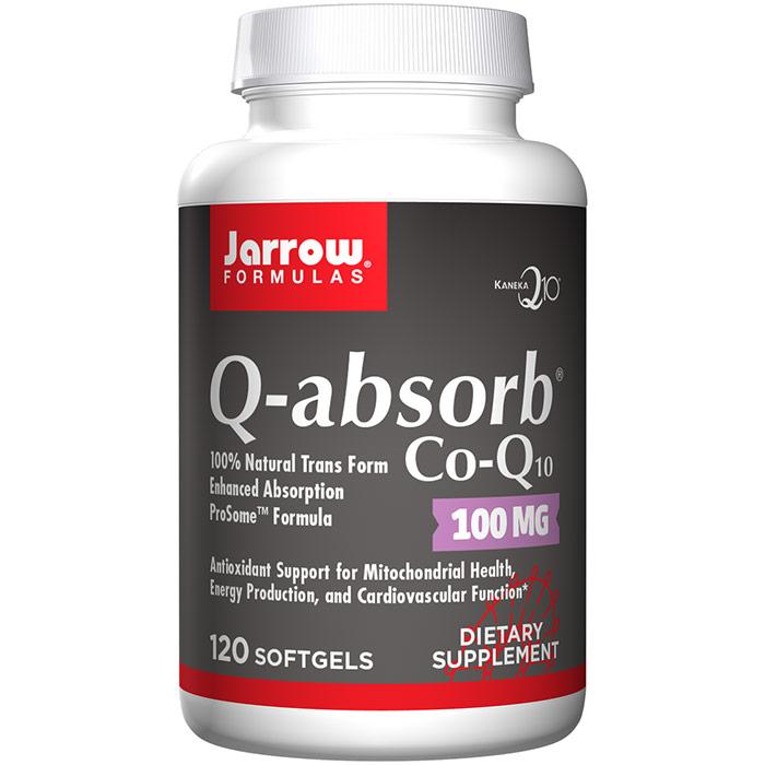 Q-Absorb Co-Q10 100mg, 120 Softgels, Jarrow Formulas