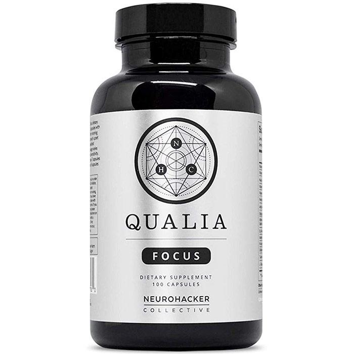 Qualia Focus, 100 Vegetarian Capsules, Neurohacker Collective