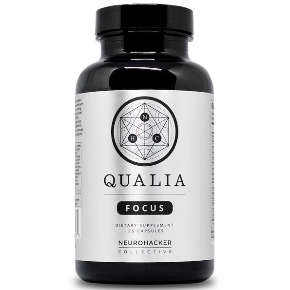 Qualia Focus, 25 Vegetarian Capsules, Neurohacker Collective