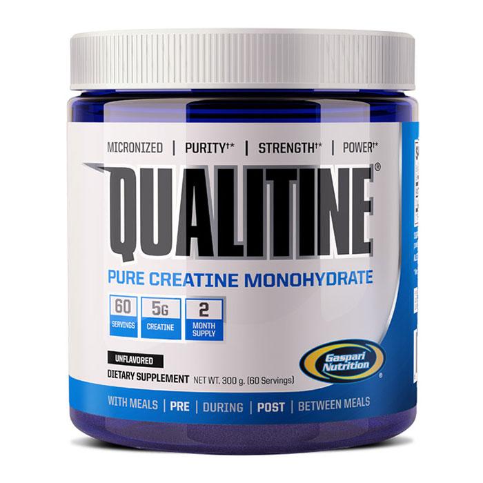 Qualitine, Creatine Monohydrate, 300 g, Gaspari Nutrition