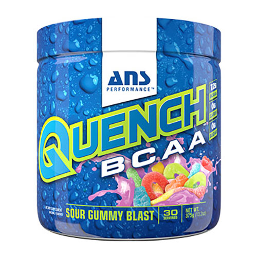 Quench BCAA, Branched Chain Amino Acid Recovery Drink, 375 g, ANS Performance