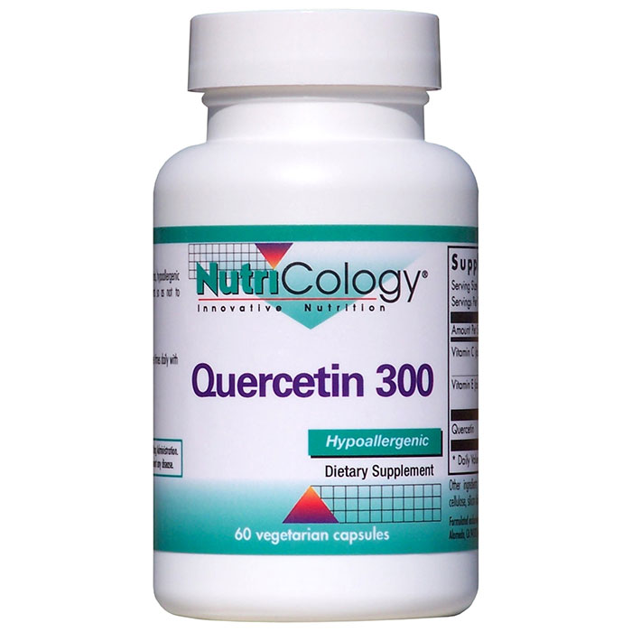Quercetin 300 60 caps from NutriCology - CLICK HERE TO LEARN MORE