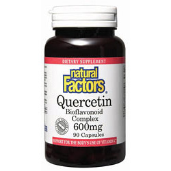 Quercetin Bioflavonoid 90 Capsules, Natural Factors - CLICK HERE TO LEARN MORE