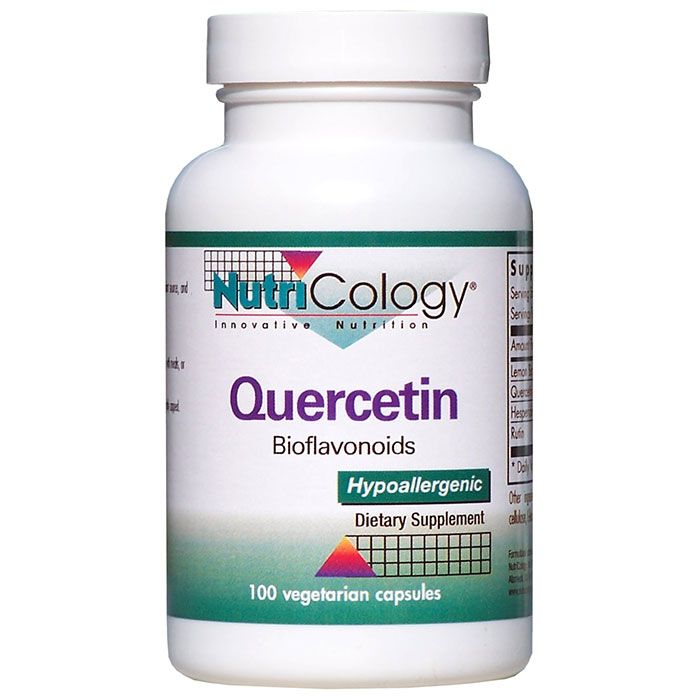 Quercetin with Bioflavonoids 100 caps from NutriCology - CLICK HERE TO LEARN MORE
