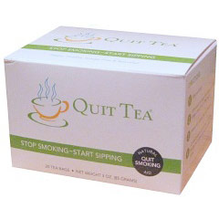 Quit Tea, Natural Stop Smoking Aid, 20 Tea Bags