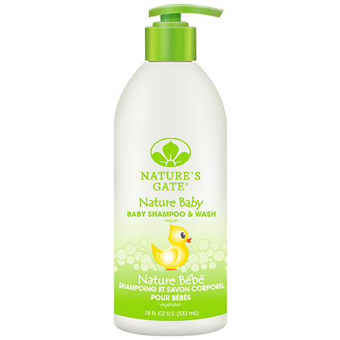 Rainwater Baby Shampoo 18 fl oz from Nature's Gate