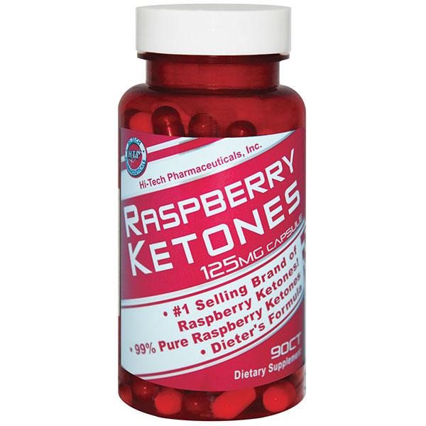 Raspberry Ketones 125 mg, 90 Capsules, Hi-Tech