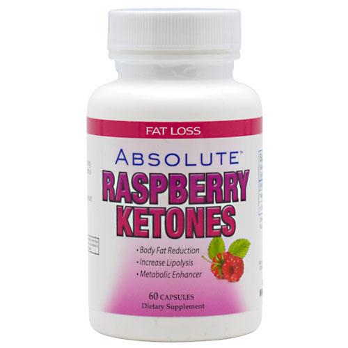 Raspberry Ketones 100 mg, 60 Capsules, Absolute Nutrition