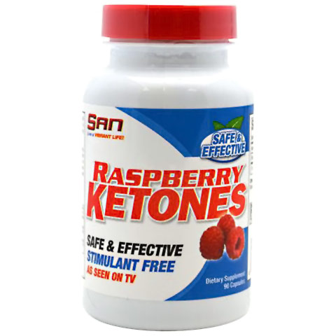 Raspberry Ketones, 90 Capsules, SAN Nutrition