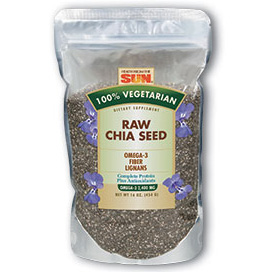 Raw Chia Seed, 16 oz, Health From The Sun