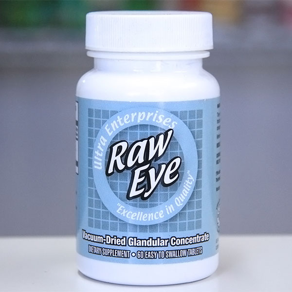 Ultra Raw Eye, 90 Tablets, Ultra Enterprises
