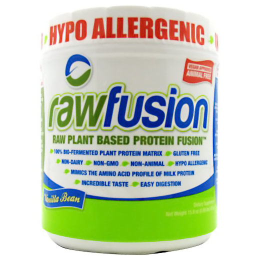 Raw Fusion, Raw Plant Based Protein Fusion, 15 Servings, SAN Nutrition