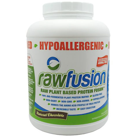 Raw Fusion, Raw Plant Based Protein Fusion, 61 Servings, SAN Nutrition