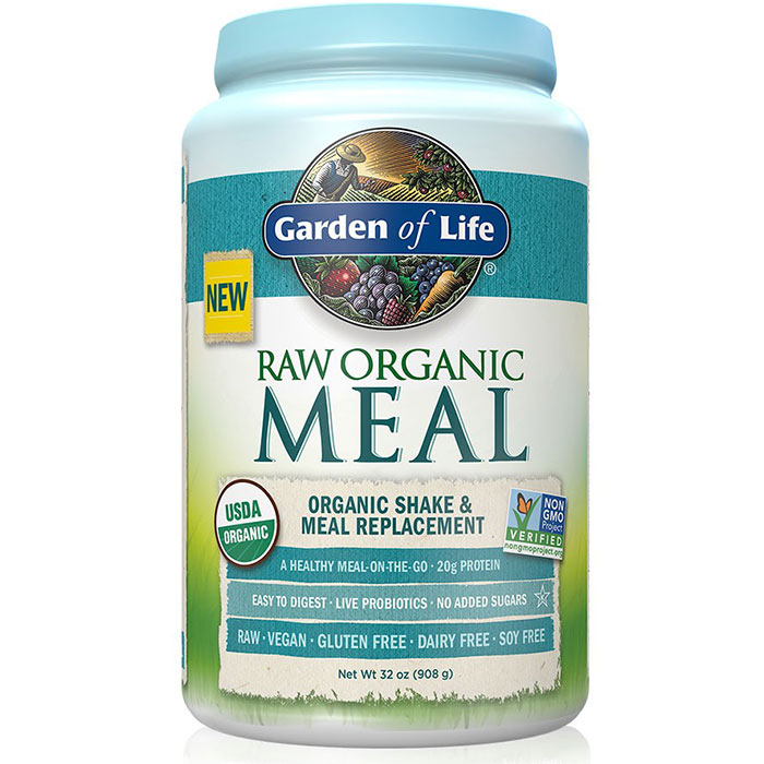 RAW Meal, Organic Meal Replacement Shake, 32 oz (908 g), Garden of Life