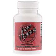 Raw Thymus 200 mg, 60 Tablets, Ultra Enterprises