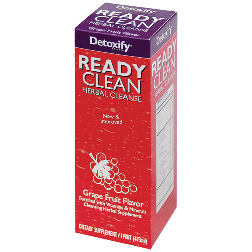 Ready Clean Drink, Grape Flavor, 16 oz, Detoxify Brand