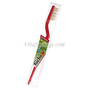 Record V Toothbrush, Natural Bristle, Medium, Fuchs Brushes - CLICK HERE TO LEARN MORE