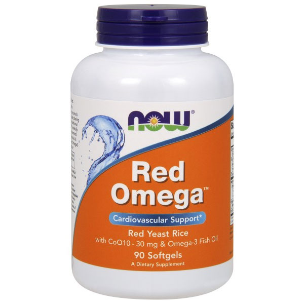 Red Omega, Cardiovascular Support, 90 Softgels, NOW Foods