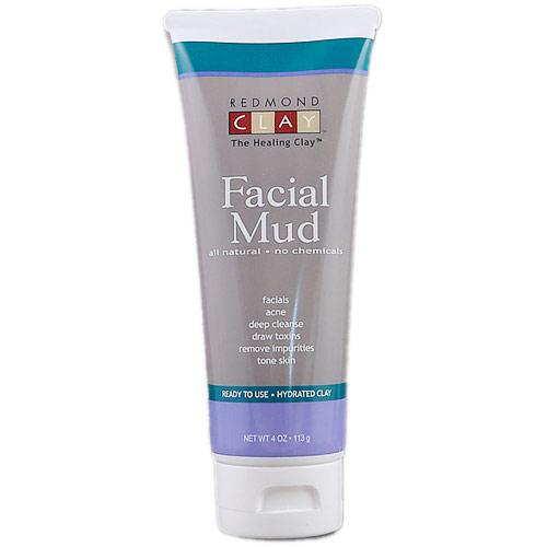 Redmond Clay Facial Mud Hydrated Clay, 4 oz, Redmond Trading Company