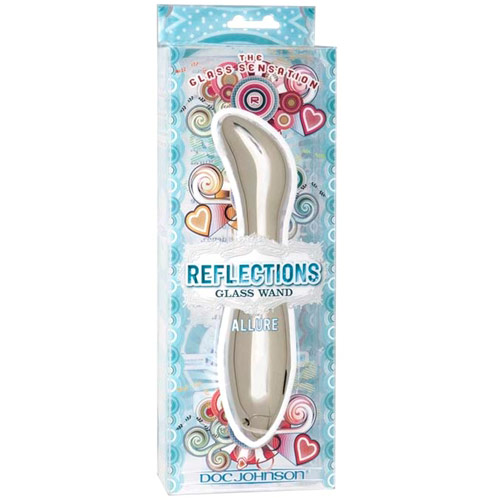 Reflections Glass Vibrator, Bliss, Doc Johnson