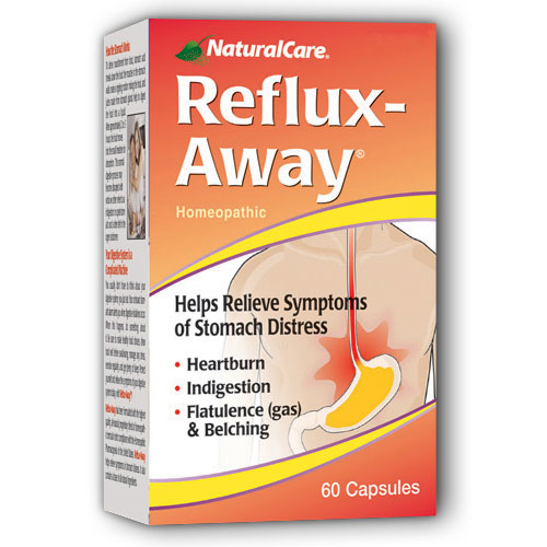 Reflux-Away (Stomach Distress) 60 caps from NaturalCare