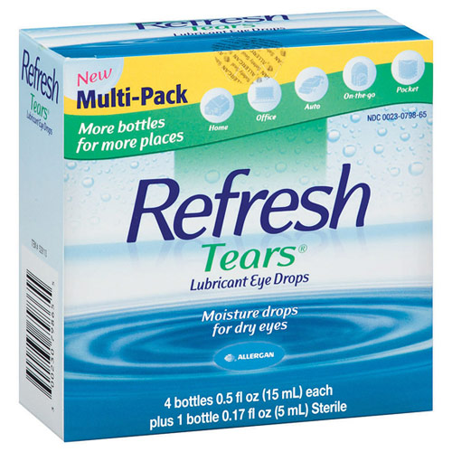 Refresh TearsLubricant Eye Drops 2 x 30 ML