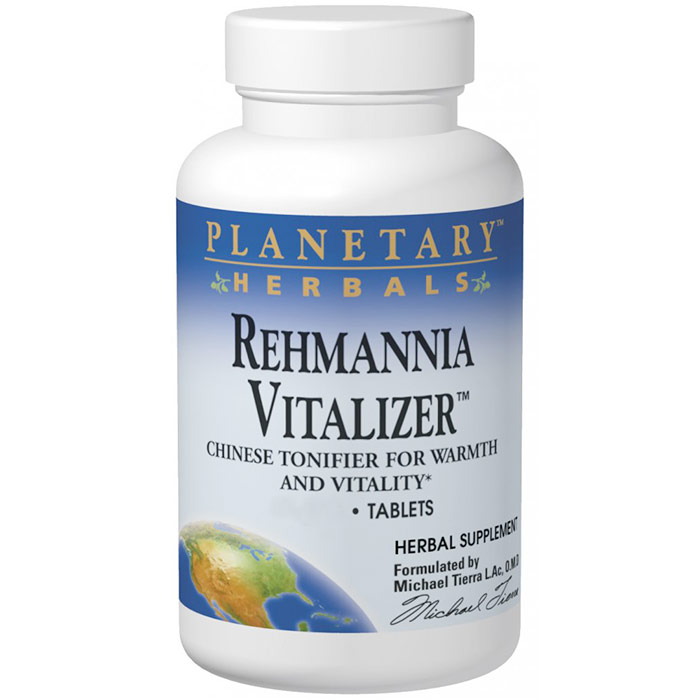 Rehmannia Vitalizer (Ba Wei Di Huang Wan) 750 mg, Value Size, 150 Tablets, Planetary Herbals