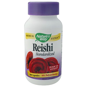 Reishi Extract Standardized 100 caps from Natures Way