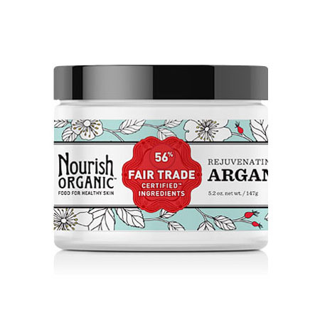 Rejuvenating Argan Butter, 5.2 oz, Nourish Organic