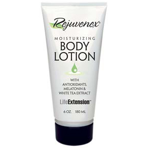Rejuvenex Moisturizing Body Lotion, 6 oz, Life Extension Skin Care