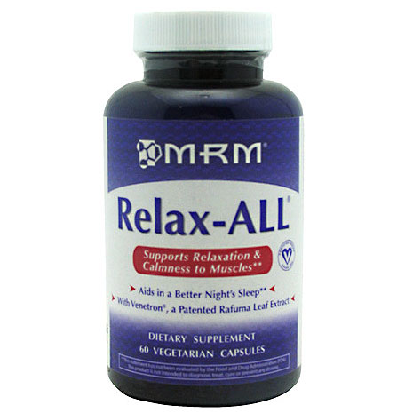 Relax-ALL, Aids in a Better Nights Sleep, 60 Vegetarian Capsules, MRM
