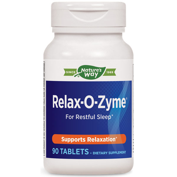Relax-O-Zyme, Stress & Sleep, 90 Tablets, Enzymatic Therapy