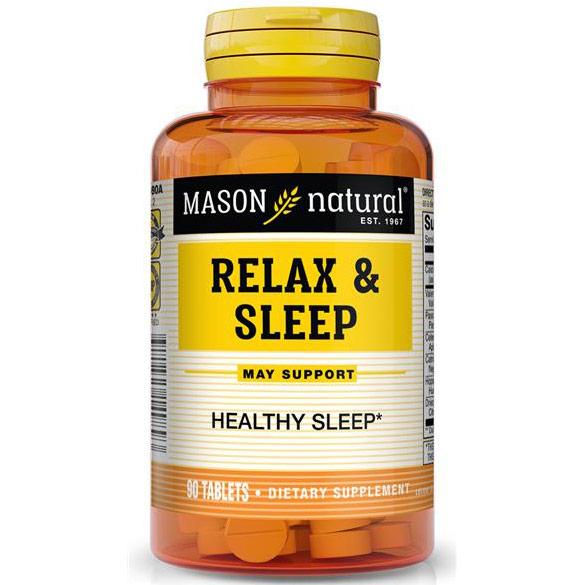 Relax & Sleep, 90 Tablets, Mason Natural
