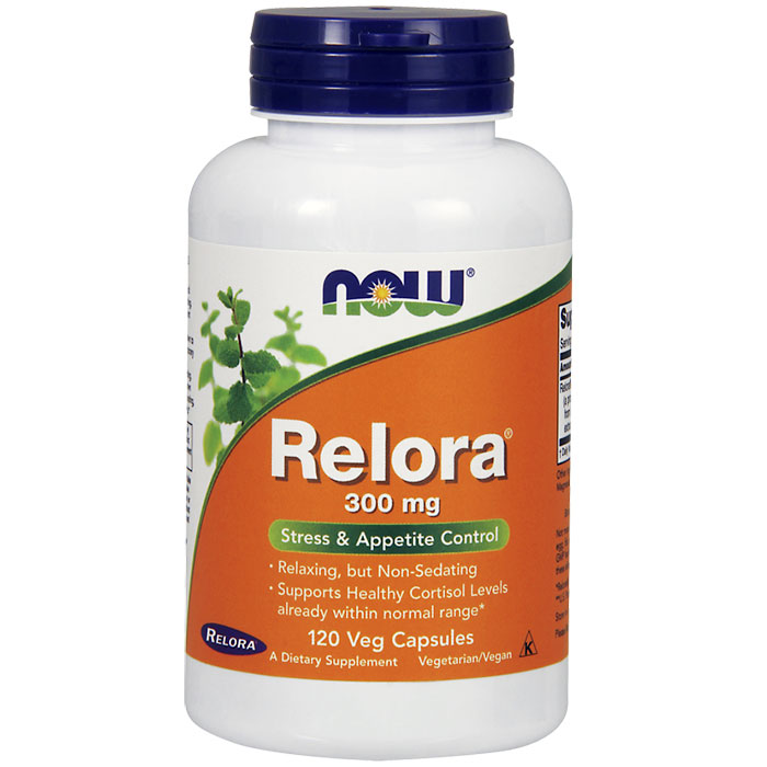 Relora 300 mg, Value Size, 120 Vegetarian Capsules, NOW Foods