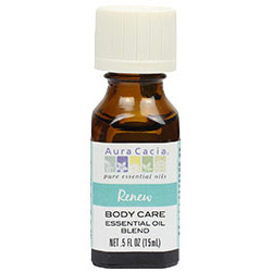 Renew Body Care Essential Oil Blend, 0.5 oz, Aura Cacia