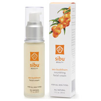 Sea Buckthorn Nourishing Facial Cream, 1 oz, Sibu Beauty