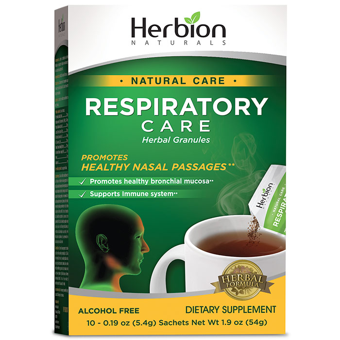Respiratory Care Granules Sachets, 10 ct, Herbion