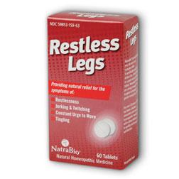 Restless Legs, 60 Chewable Tablets, NatraBio