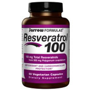 Resveratrol 100, 60 Capsules, Jarrow Formulas (Vitamins Supplements - Resveratrol)