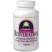 Resveratrol 40mg Caps, 30 Capsules, Source Naturals