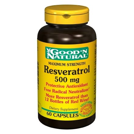 Resveratrol 500 Mg 60 Capsules Good N Natural Topicfeed