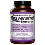 Resveratrol Synergy, 120 Tablets, Jarrow Formulas