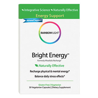 Rhodiola Recharge, Energy Support, 60 Capsules, Rainbow Light