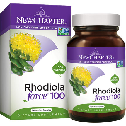 Rhodiola Force 100 mg, 30 Vcaps, New Chapter