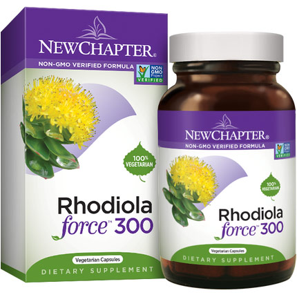 Rhodiola Force 300 mg, 30 Vcaps, New Chapter