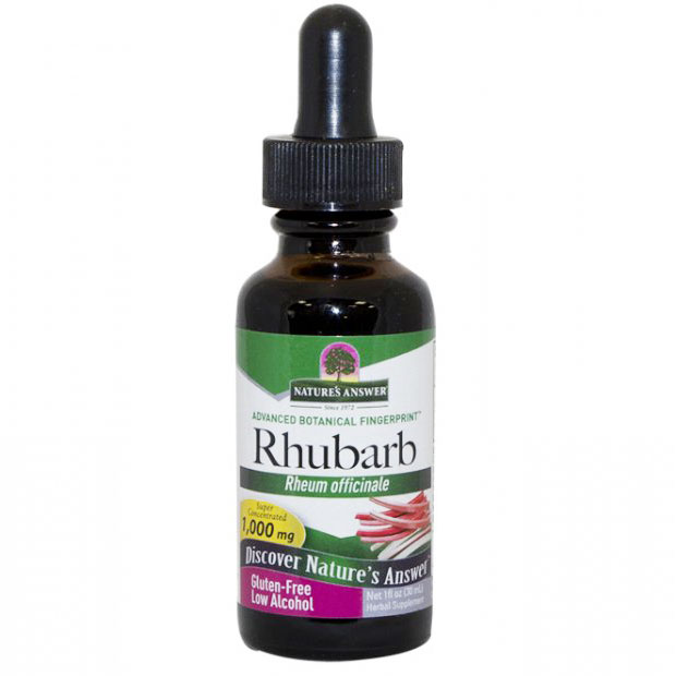 Rhubarb Root Extract Liquid 1 oz from Natures Answer