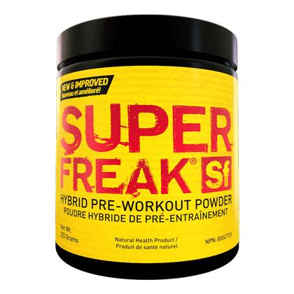 Super Freak, Hybrid Pre-Workout Powder - Raspberry Lemonade, 205 g (40 Servings), PharmaFreak