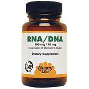 RNA/DNA 100mg/10mg 100 Tablets, Country Life